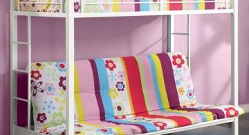 simple bunk unique beds for girls