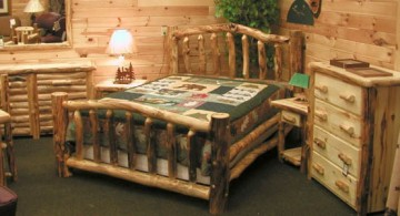 simple cabin bedroom decorating ideas