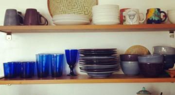 simple floating shelf decorating ideas
