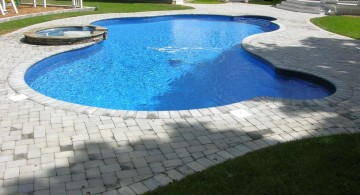 simple free formed pool shapes and designs