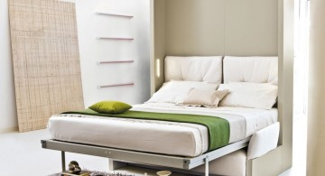 simple murphy bed design ideas for small rooms