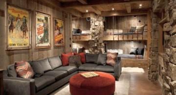 simple rustic living room ideas