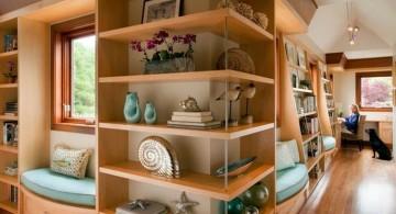 simple space savvy corner shelf designs
