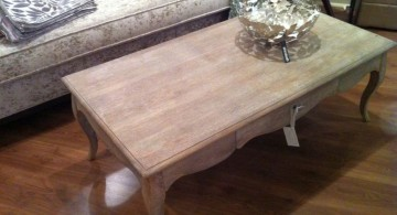 simple vintage wood coffee table designs