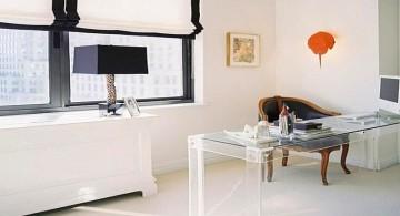 sleek Acrylic Computer Desk for office