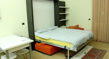 sleek and contemporary murphy bed design ideas for small rooms