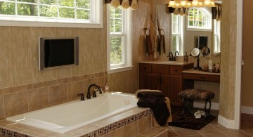 small but classy brown bathroom ideas
