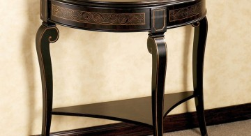small entry table ideas 016