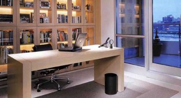 small office plans with bookshelf partition
