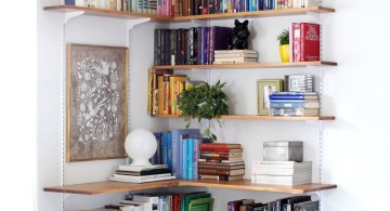 space smart corner shelf designs