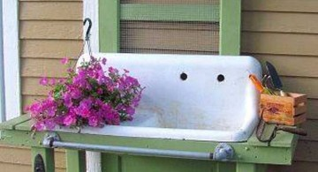 19 Homely Exposed Beam Ceiling Rustic Interior Ideas on Outdoor Sink With Stand id=77778