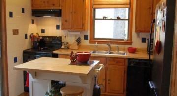 stand alone kitchen sink with small kitchen island