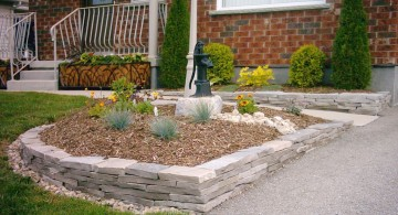 stones for flower beds 014