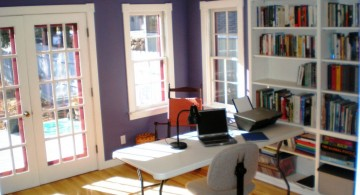 stylish home office good for dentist
