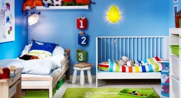 sunshine and blue sky kids rooms paint ideas