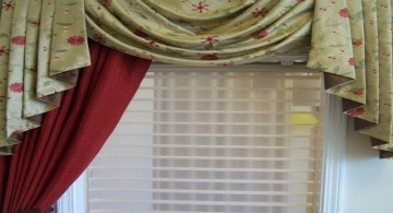 swag valance patterns with fishtail