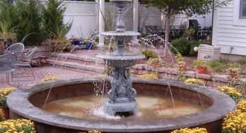 tall landscape fountain design ideas
