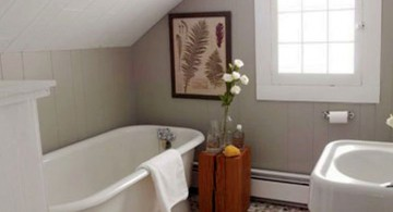 tiny bathroom design ideas for attic bathroom