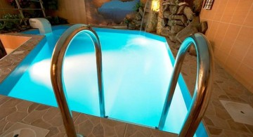 tiny swimming pools for small indoor space