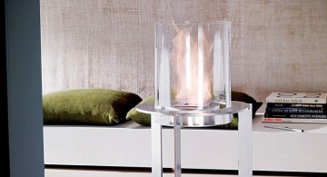 unique chalice freestanding fireplaces designs