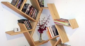 unique corner shelf designs