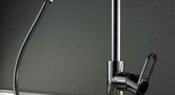 unique kitchen faucets with LED lamp