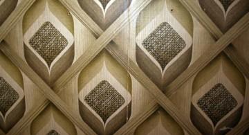 unique retro interior textured wall designs