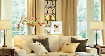 vintage living room ideas with unique floor lighting