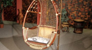 vintage looking bedroom swing chair