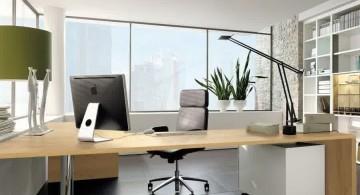 wall mounted sleek office desk