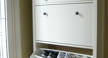 white shoe cabinets design ideas