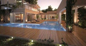 wide and spacious modern deck design