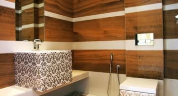 wooden bathroom designs