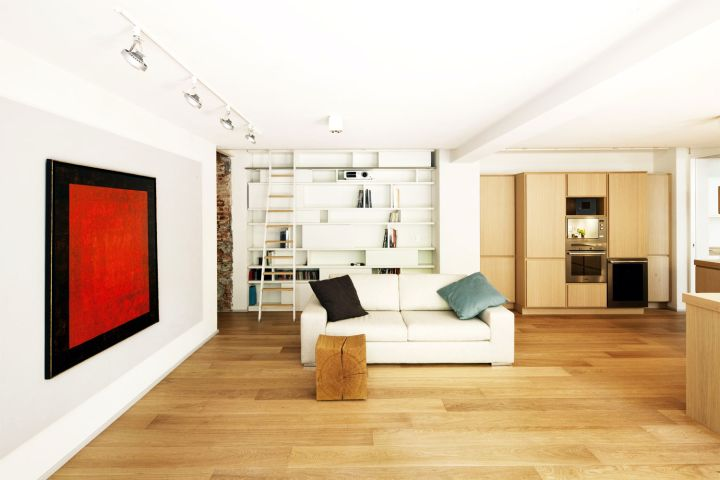 Wooden floor tile flooring ideas for living room