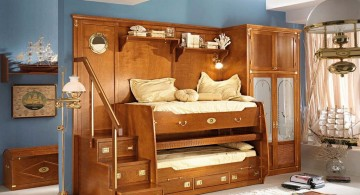 wooden unique beds for girls