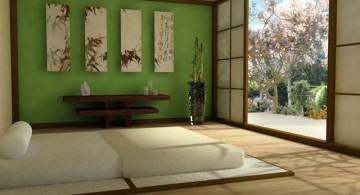 zen bedroom ideas with paper doors