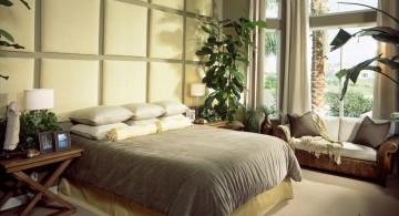 zen inspired bedroom wall panel design ideas