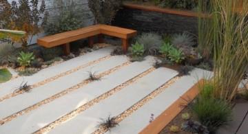 zen style minimalist Japanese garden backyard design