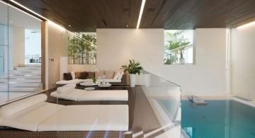 Agalarov Estate pool beds