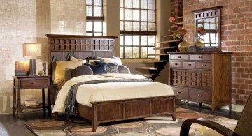 Asian bedroom for basement rooms