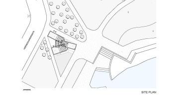 Cafe Birgitta site plan