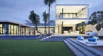 Chenglu Villa house nine poolside