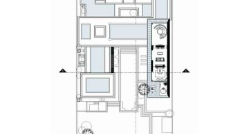 Chenglu Villa house nine second floor plan