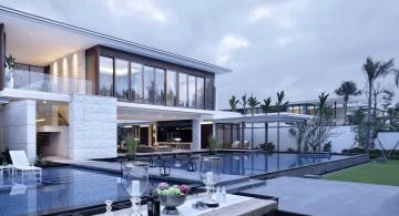 Chenglu Villa house ten back yard