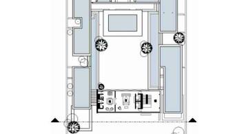 Chenglu Villa house ten second floor plan