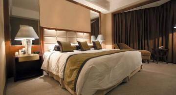 Cozy elegant beds
