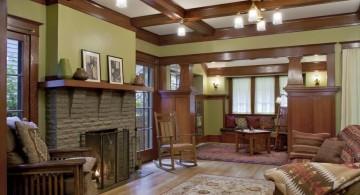 Craftsman House Remodel living room