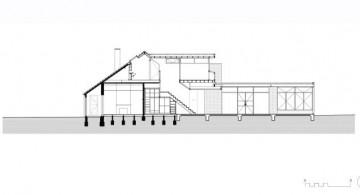 Elwood House side view floor plan