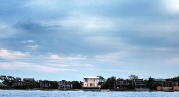 Fire Island Beach House from afar