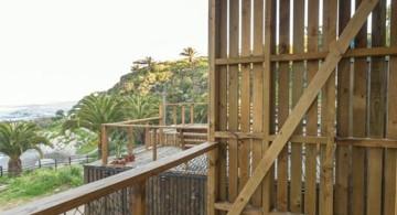 Hostal Ritoque Chile balcony